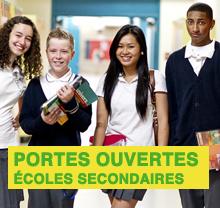 Дни открытых дверей в колледжах Монреаля 2014 (secondaire)